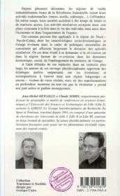 Recreation, Re-Creation : Tourisme Et Sport Dans Le Nord Pas-De-Calais - 4ème de couverture - Format classique