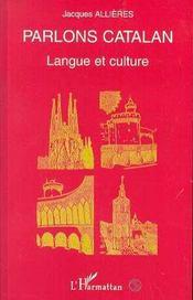 Parlons Catalan ; Langue Et Culture - Intérieur - Format classique