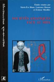 Societes Asiatiques Face Au Sida - Couverture - Format classique