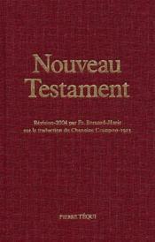 Nouveau Testament (Reliure Toile) - Couverture - Format classique