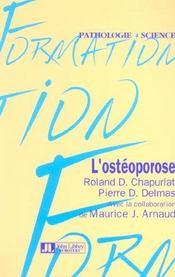L'Osteoporose - Intérieur - Format classique