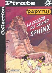Papyrus T.20 ; La Colere Du Grand Sphynx - Intérieur - Format classique
