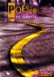 Poesie En Liberte - Intérieur - Format classique