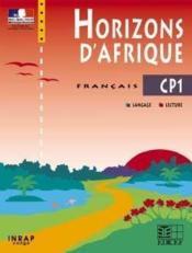 Horizons D'Afrique Francais Cp1 - Couverture - Format classique