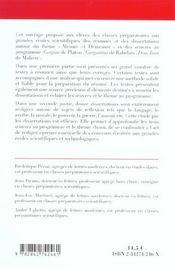Mesure Et Demesure ; Dissertation Et Resume - 4ème de couverture - Format classique