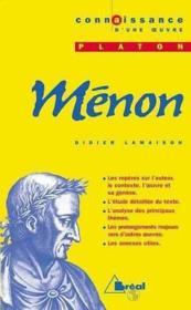 Menon - platon - Couverture - Format classique