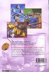 Serviettes En Papier Imprimees Pour Balcon Et Jardin ; Technique De Collage - 4ème de couverture - Format classique