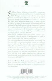 La jeunesse de napoleon - 4ème de couverture - Format classique