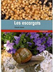 Les escargots - Couverture - Format classique