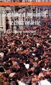 Bioethique Et Population - Le Choix De La Vie - Couverture - Format classique