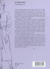 Les Burgondes. - 4ème de couverture - Format classique