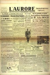 Aurore (L') N°459 du 08/02/1946 - Couverture - Format classique