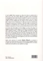 Carnets des Cornouailles - 4ème de couverture - Format classique