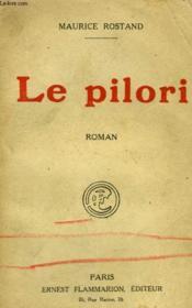 Le Pilori. - Couverture - Format classique