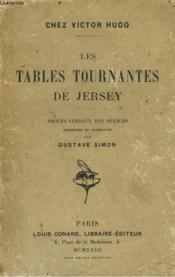 Les Tables Tournates De Jersey - Couverture - Format classique