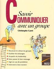 Savoir Communiquer Avec Groupe - Intérieur - Format classique