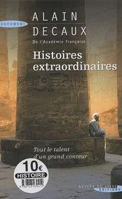 Histoires extraordinaires - Intérieur - Format classique