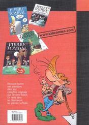 Pierre Tombal Pirate T.9; Voyage De N'Os - 4ème de couverture - Format classique