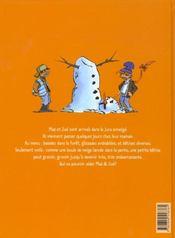 Max et Zoé t.4 ; la grosse bétise - 4ème de couverture - Format classique