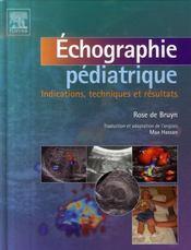 Échographie pédiatrique - Intérieur - Format classique