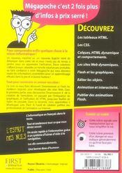 Dreamweaver et flash 8 - 4ème de couverture - Format classique