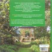 Meubles & créations pour le jardin - 4ème de couverture - Format classique