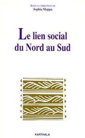 Le lien social du nord au sud - Couverture - Format classique