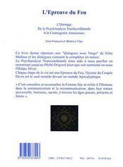 L'Epreuve Du Feu - Intérieur - Format classique