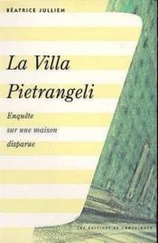 La villa pietrangeli - Couverture - Format classique