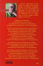 Le livre de l'interprétation du tarot - 4ème de couverture - Format classique