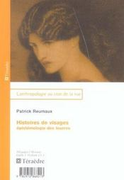 Histoires De Visages ; Epistemologie Des Leurres - Intérieur - Format classique