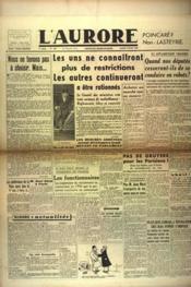Aurore (L') N°460 du 09/02/1946 - Couverture - Format classique