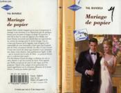 Mariage De Papier - Marriage On His Terms - Couverture - Format classique