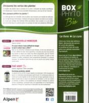 Boxphyto ; La Solution Minceur Grâce Aux Plantes - 4ème de couverture - Format classique