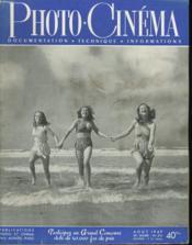 PHOTO CINEMA - DOCUMENTATION - TECHNIQUE - INFORMATIONS - 29e ANNEE - N°574 - Couverture - Format classique