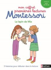 Vente livre :  Le lapin de Mia ; niveau 2, sons on, in, an  - Collectif