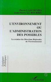 L'Environnement Ou L'Administration Des Possibles - Intérieur - Format classique