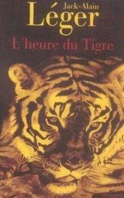 L'heure du tigre - Couverture - Format classique