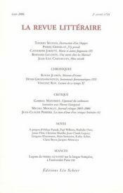 La Revue Litteraire N 24 Mars 2006 - Intérieur - Format classique