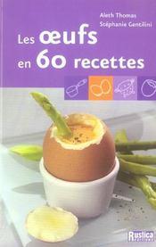 Les oeufs en 60 recettes - Intérieur - Format classique