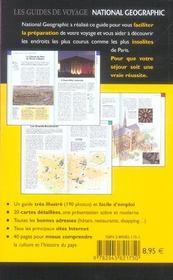 Paris (2e édition) - 4ème de couverture - Format classique