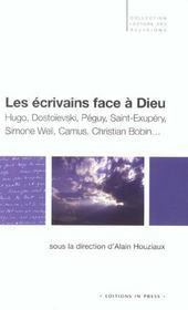Les Ecrivains Face A Dieu - Intérieur - Format classique
