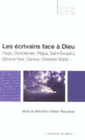 Les Ecrivains Face A Dieu - Couverture - Format classique