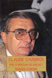 Claude Chabrol - Couverture - Format classique