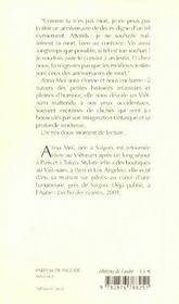 Parfum De Pagode - 4ème de couverture - Format classique