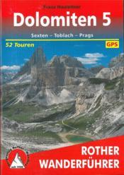 Dolomiten 5 (Allemand)Sexten - Toblach - Prags - 52 - Couverture - Format classique