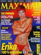 Maximal N°23 du 01/09/2002 - Couverture - Format classique