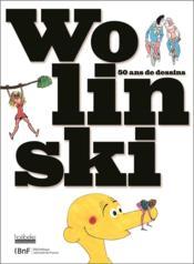 Wolinski et moi, 50 ans de dessins - Couverture - Format classique