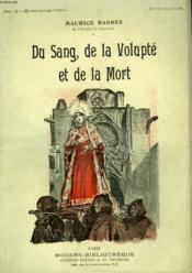 Du Sang De La Volupte Et De La Mort. Collection Modern Bibliotheque. - Couverture - Format classique