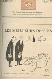 TOUT - LES MEILLEURS DESSINS - 2e ANNEE N° 15 - JUILLET 1949 - Couverture - Format classique